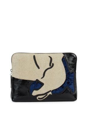 Exclusive: 31 Leather Clutch 3.1 Phillip Lim