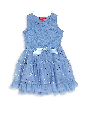 Little Girl's Tutu Sequined Dress