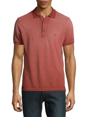 Cotton Short-Sleeve Polo Diesel