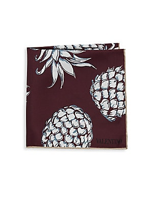 Pineapple Silk Pocket Squares