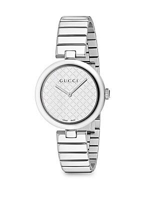 Diamantissima Stainless Steel Bracelet Watch