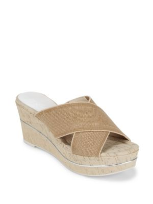 Dani Wedge Sandals Donald J Pliner