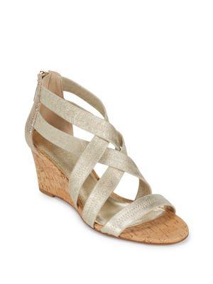 Jemi Leather Open-Toe Sandals Donald J Pliner