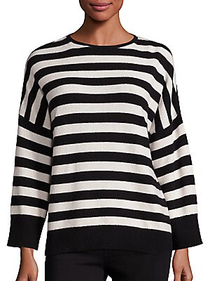 Cashmere Blend Striped Sweater