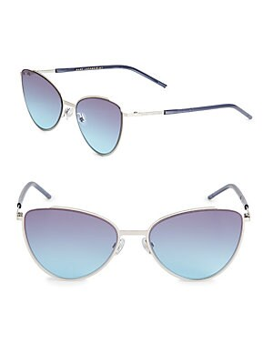 marc jacobs female 56mm cat eye sunglasses