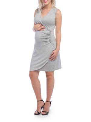 Maternity Brynley Heather Dress LILAC MATERNITY