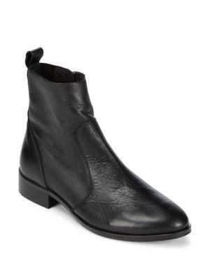 Leather Ankle Boots ALEX ALEX