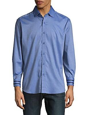 Angus Micro Dobby Geometric Shirt