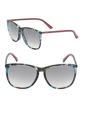 59MM, Oval Sunglasses
