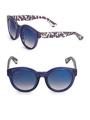 Gradient 53MM Wayfarer Sunglasses