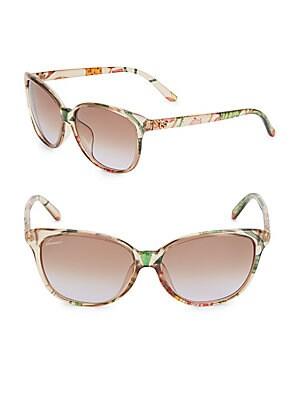 57MM, Cat Eye Sunglasses
