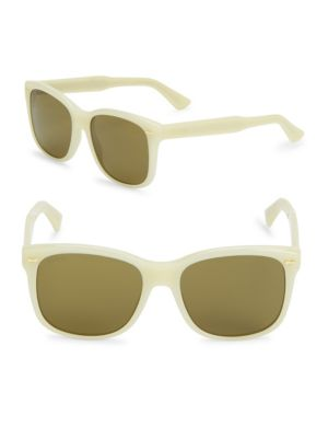 56MM, Oval Sunglasses