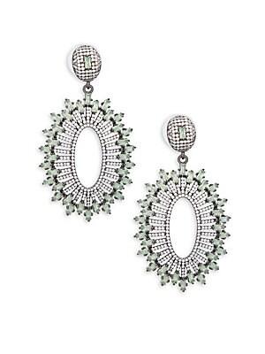 Embellish Crystal Earrings