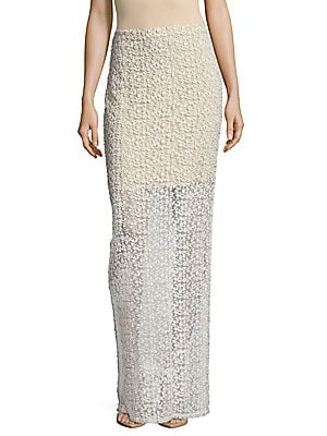 Misha Fitted Maxi Skirt