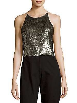 Samira Sequin Top