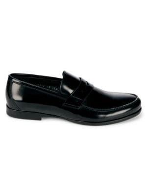 James Leather Penny Loafer Harrys Of London