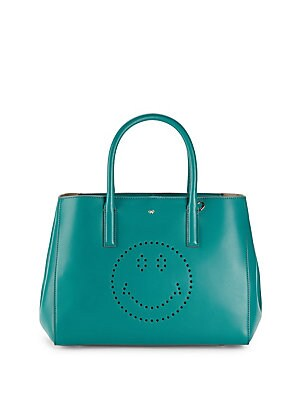 Ebury Smiley Small Leather Handbag