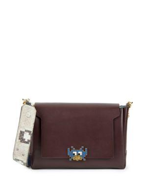 Bathurst Leather Crossbody Bag Anya Hindmarch