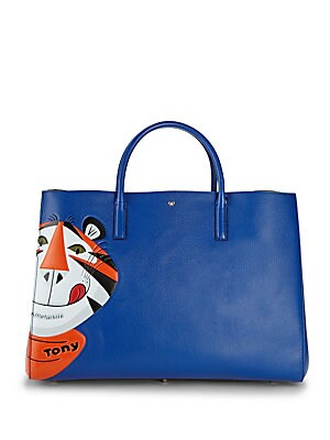 Ebury Maxi Frosties Leather Tote