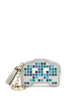Space Invaders Robot Leather Coin Purse Anya Hindmarch