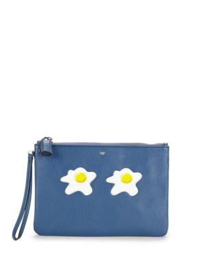 Eggs Leather Pouch Anya Hindmarch