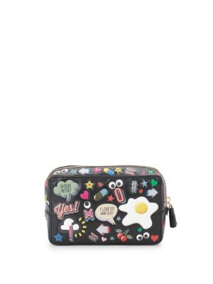 Printed Make-Up Pouch Anya Hindmarch