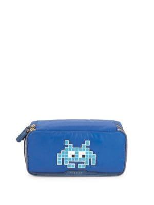 Pixel Robot Makeup Bag Anya Hindmarch