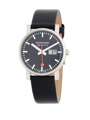 Stainless Steel Strap Watch Mondaine
