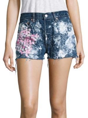 Vintage 501 Cherry Blossom Cut-Off Shorts Rialto Jean Project
