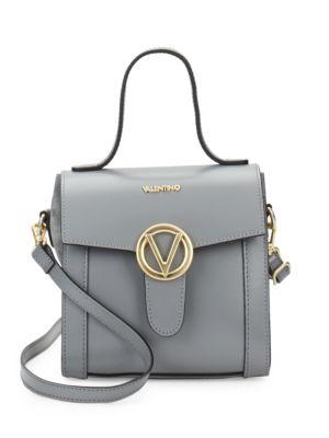 Agnes Leather Crossbody Bag Valentino by Mario Valentino