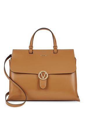 Olimpia Leather Satchel Valentino by Mario Valentino