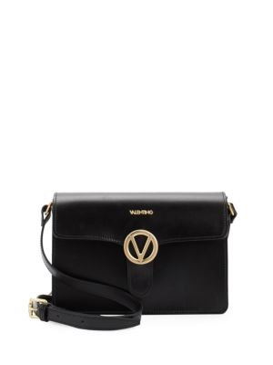 Jade Leather Crossbody Bag Valentino by Mario Valentino