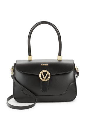 Gaelle Leather Satchel Valentino by Mario Valentino