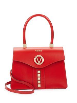 Melanie Leather Satchel Valentino by Mario Valentino