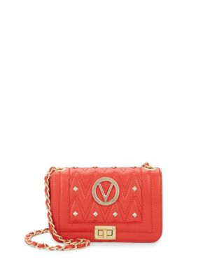Studded Leather Crossbody Bag Valentino by Mario Valentino