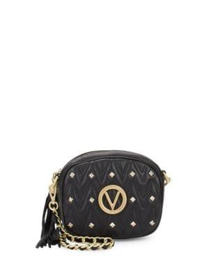 Nina Studded Leather Crossbody Bag Valentino by Mario Valentino
