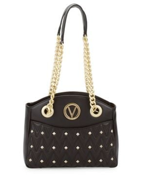 Camelie Studded Leather Shoulder Bag Valentino by Mario Valentino