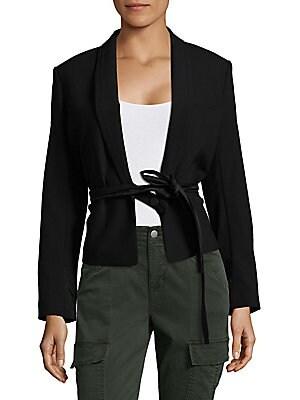 Short Belted Jacket