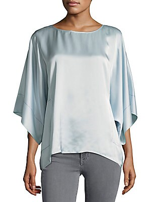 Cape Sleeves Square Top