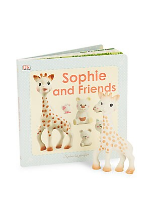 Teether Giraffe and Storybook