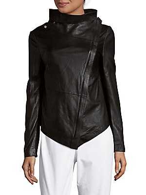 Feather Weight Leather Jacket