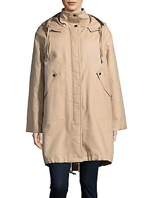 Shearling-Lined Utility Parka