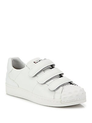 Club Grip-Tape Leather Sneakers