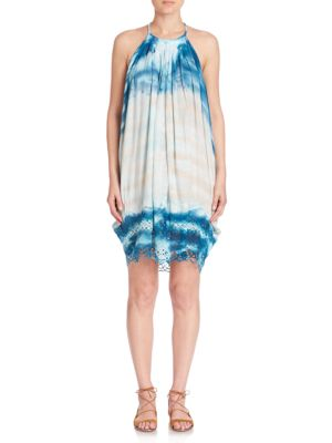 Trischa Tie-Dye Racerback Dress Young Fabulous   Broke