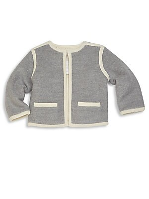 Baby's Mikey Merino Wool & Cotton Cardigan