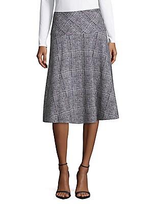 Raser Plaid Skirt