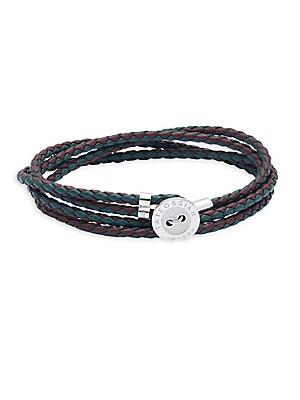 Muliple-Strands Leather Bracelet