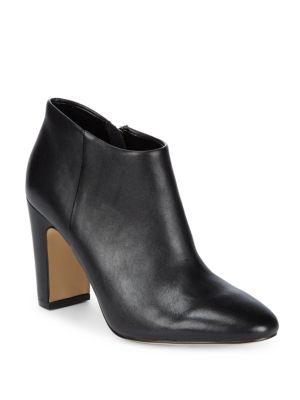 Peyton Leather Booties