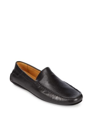 Slip-On Leather Moccasins Saks Fifth Avenue
