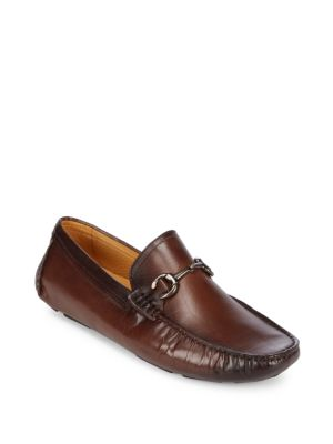 Smooth Leather Loafers Saks Fifth Avenue
